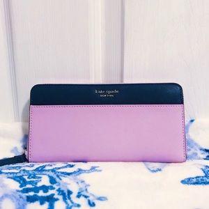 💜💙 Kate Spade Cameron Large Continental Wallet